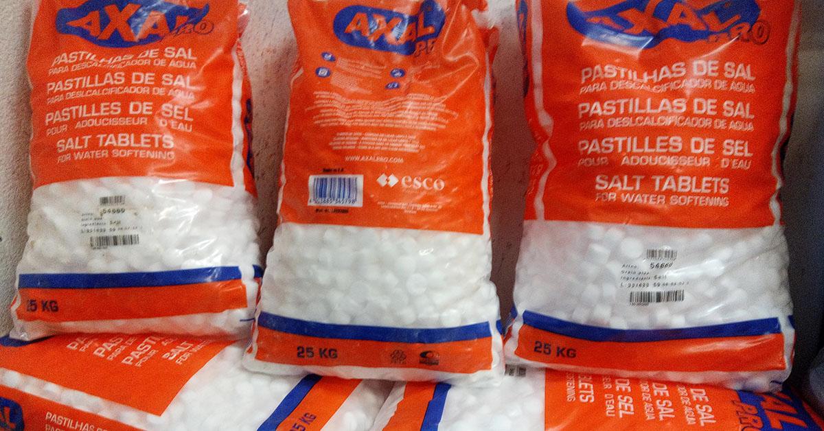 Sal descalcificador axal